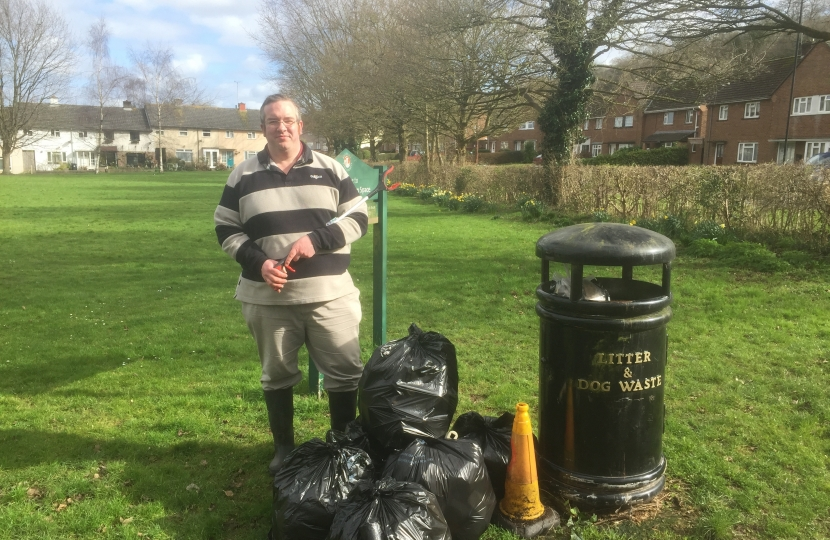 Mark at a Community Litterpick